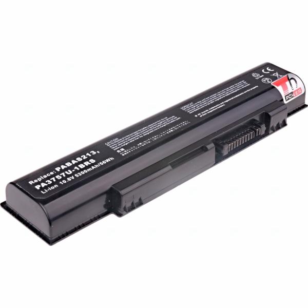 Baterie T6 power Toshiba Qosmio F60, F750, F755, 6cell, 5200mAh