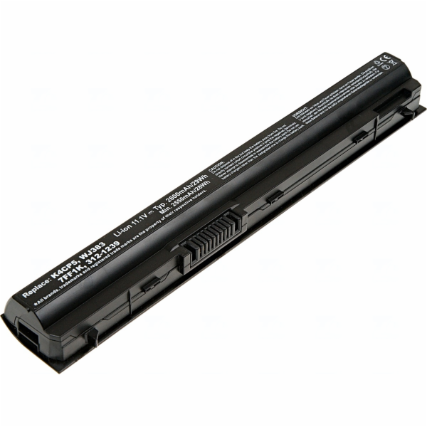 Baterie T6 power Dell Latitude E6220, E6230, E6320, E6330, E6430s, 3cell, 2600mAh
