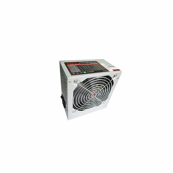 HEDY zdroj 400W, ATX 2.2, OV protect, 2xSATA, 12 cm FAN, pasivní PFC, silent