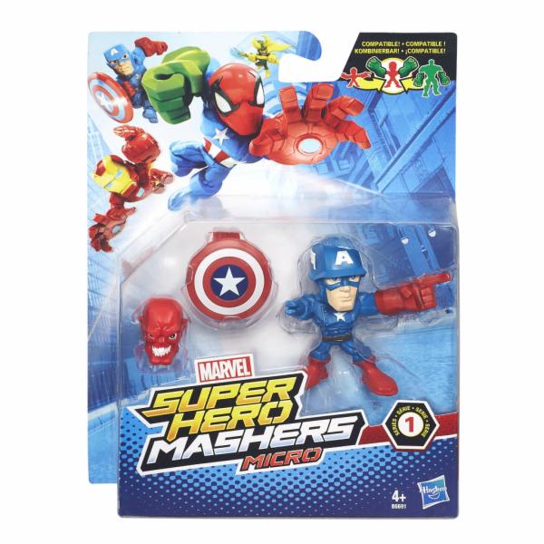 Hasbro Avengers Micro Hero Mashers Spiderman vs. Marvels Rhino