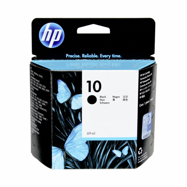 HP C 4844 A ink cartridge black No. 10