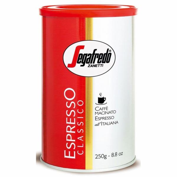 Káva Segafredo Espresso Classico 250g mletá plech