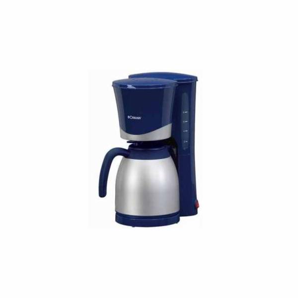 Kávovar Bomann KA 168 CB modrý/nerez