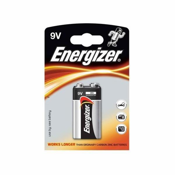 Baterie ENERGIZER 6LR61, 1x9V alkalická