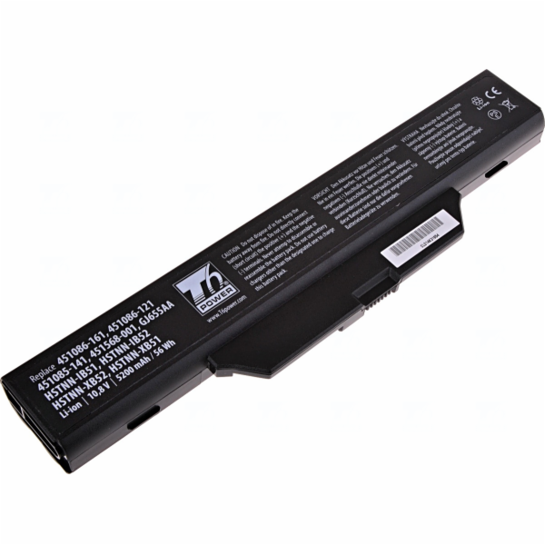 Baterie T6 power HP Compaq 6530s, 6535s, 6720s, 6730s, 6735s, 6820s, 6830s, 6cell, 5200mAh