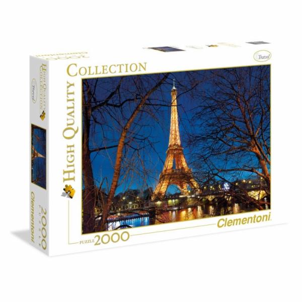Puzzle 2000 dílků Paříž