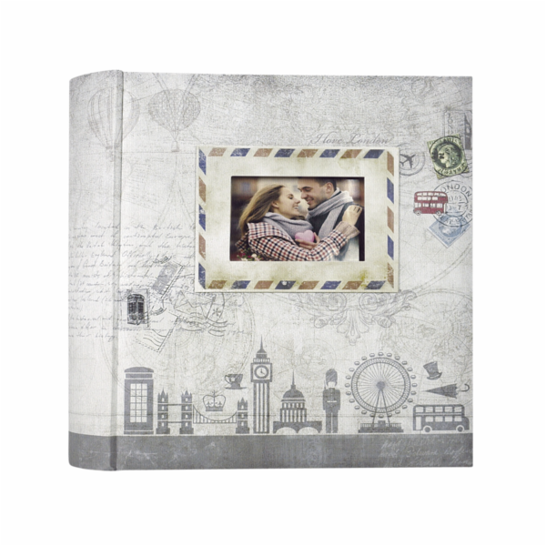 ZEP Ulisse grey 13x18 200 Photos Memo Album UL57200G