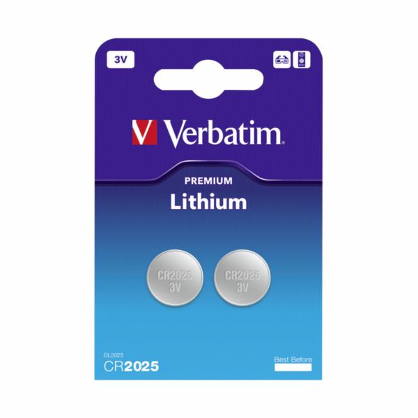 1x2 Verbatim CR 2025 Lithium