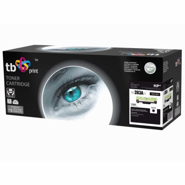 Toner TB kompatibilní s HP CF283A Black (HP 125),1500, NEW