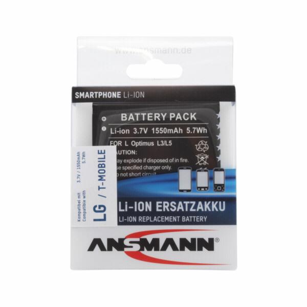 Ansmann Li-Ion Aku 1550 mAh pro LG Optimus L3 / L5