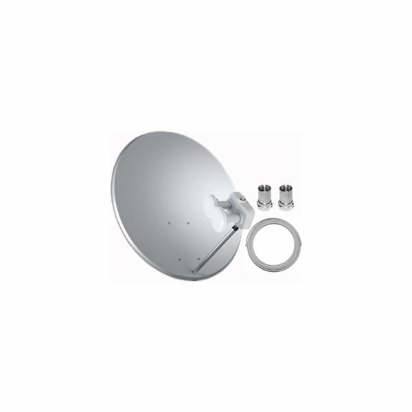 Satelitní set 80 cm + Monoblock Single
