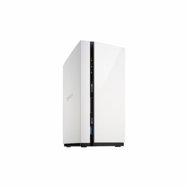 QNAP TS-228 Turbo NAS server, 1,1 GHz DC/1GB/2xHDD/1xGL/USB 3.0/Raid 0,1