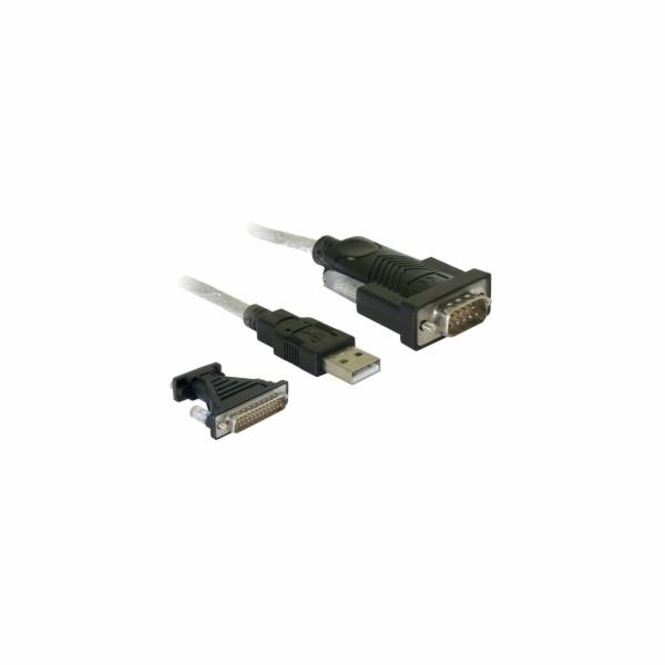 Delock Adaptér USB 2.0 > sériový port