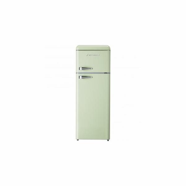Chladnička Schaub Lorenz SL 210 SG světle zelená lesklá