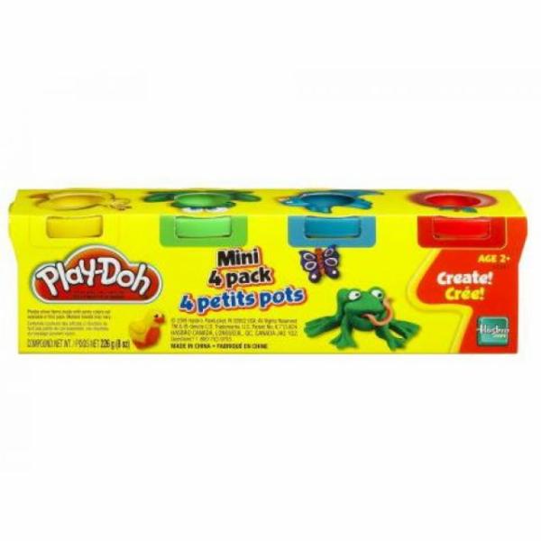 Play-Doh mini, 4 pack