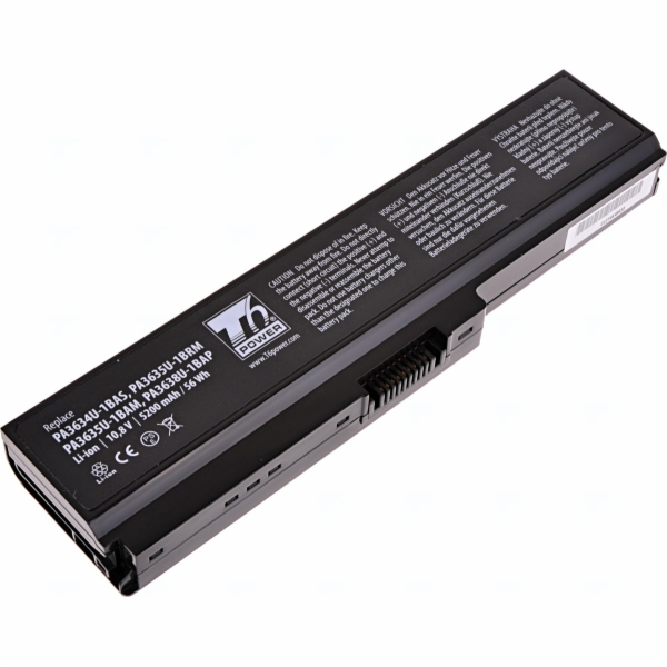 Baterie T6 power Toshiba Satellite A660, C650, L510, L630, L650, L670, U400, U500, 6cell, 5200mAh