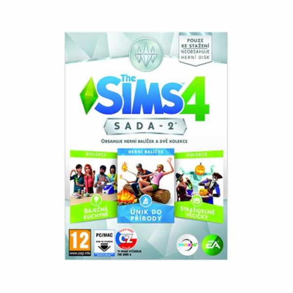 THE SIMS 4 BUNDLE PACK 2 (BP2) PC CZ/SK