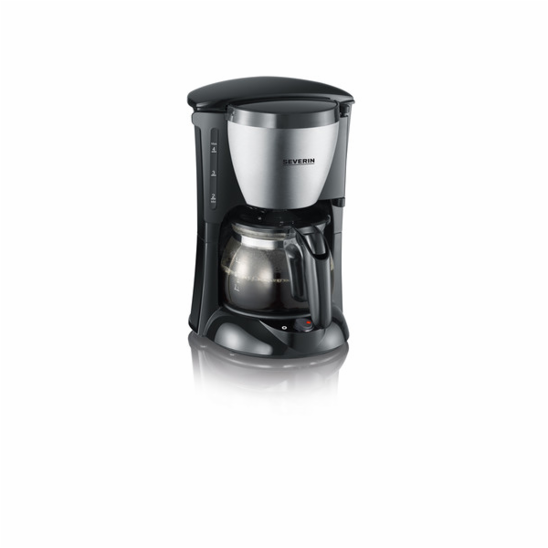 KA 4805 kávovar4 šálky nerez-černá