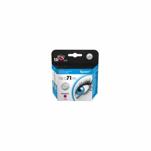 Ink. kazeta TB kompatibilní s Epson T0713 Magenta