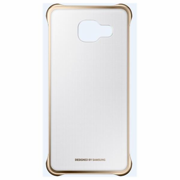 Samsung Clear Cover pro Galaxy A3 2016, Gold