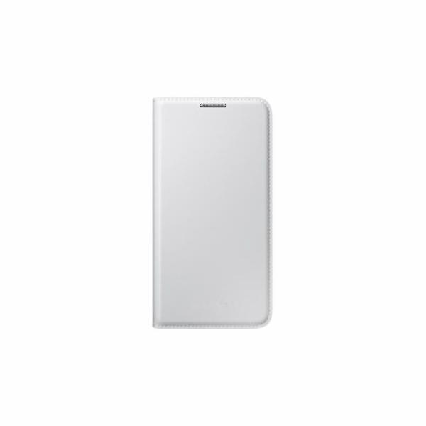 Samsung flip. pouzdro s kapsou pro S4, bílá