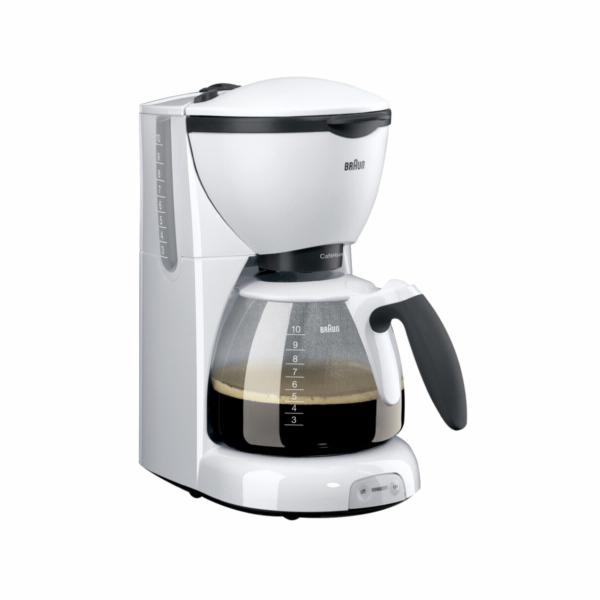 Kávovar Braun CaféHouse KF 520 bílý
