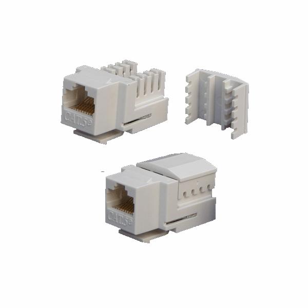 DATACOM Keystone UTP Cat5e Dual bílý
