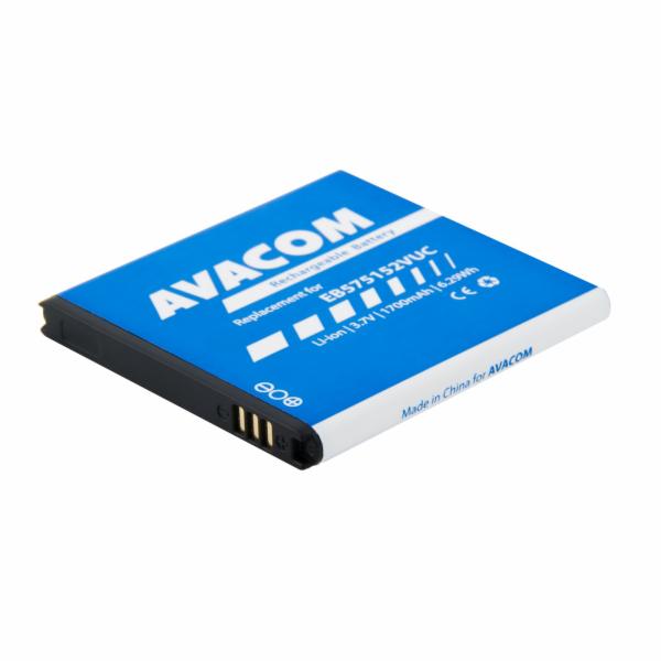 Baterie AVACOM GSSA-i9000-S1700A do mobilu Samsung S I9000 Galaxy S Li-Ion 3,7V 1700mAh