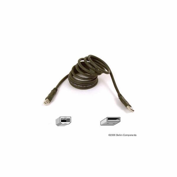BELKIN USB 2.0 kabel, A-B zařízení, 1.8 m