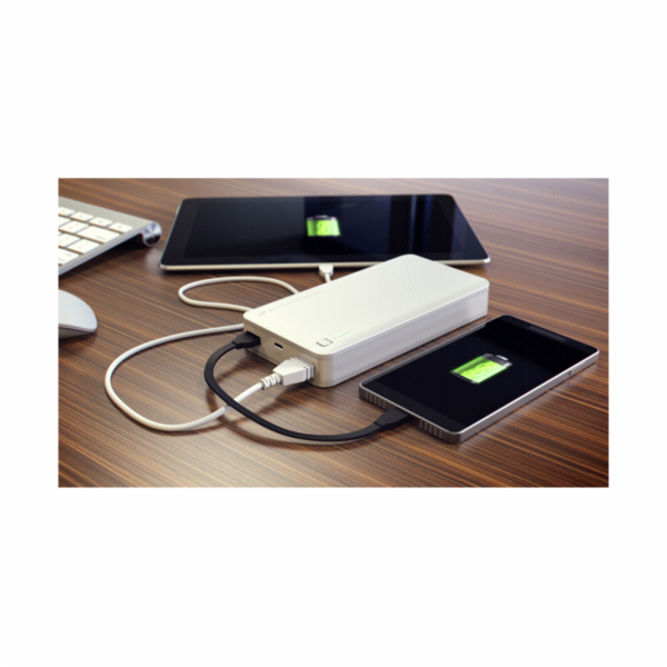 GP Portable PowerBank 3C15A white 15600 mAh
