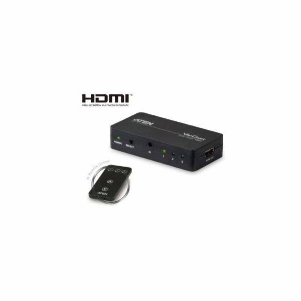 ATEN 3 port HDMI switch 3 - 1 HDMI, DO