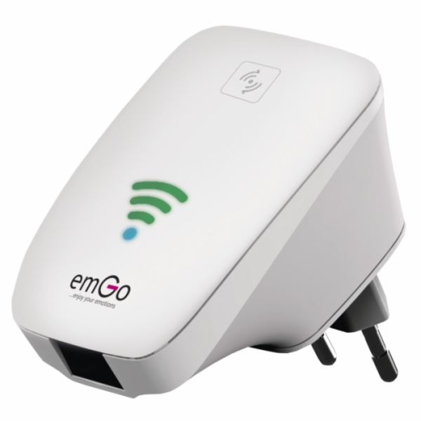 emGo U25 WiFi Repeater/Access Point 300Mbps, 802.11b/g/n, LAN