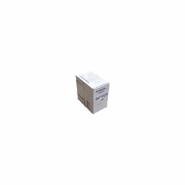 DATACOM UTP flex,Cat6 PVC,šedý,100m,licna