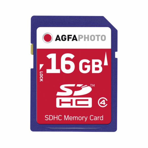 Paměťová karta AgfaPhoto SDHC 16GB