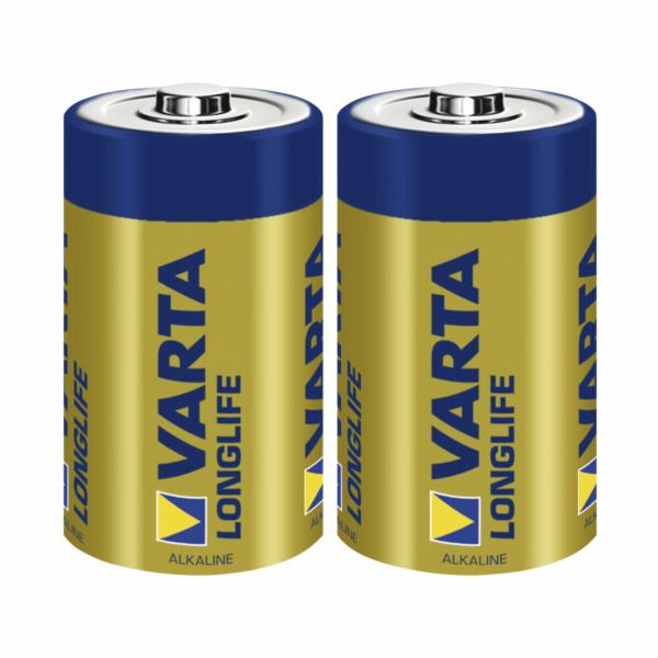 50x2 Varta Longlife Extra Mono D LR 20 PU master box