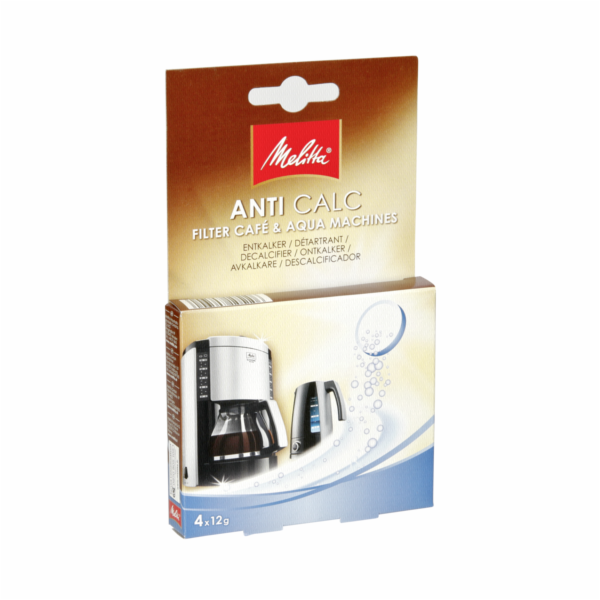 Odvápňovač Melitta Anti calc konvice-tablety