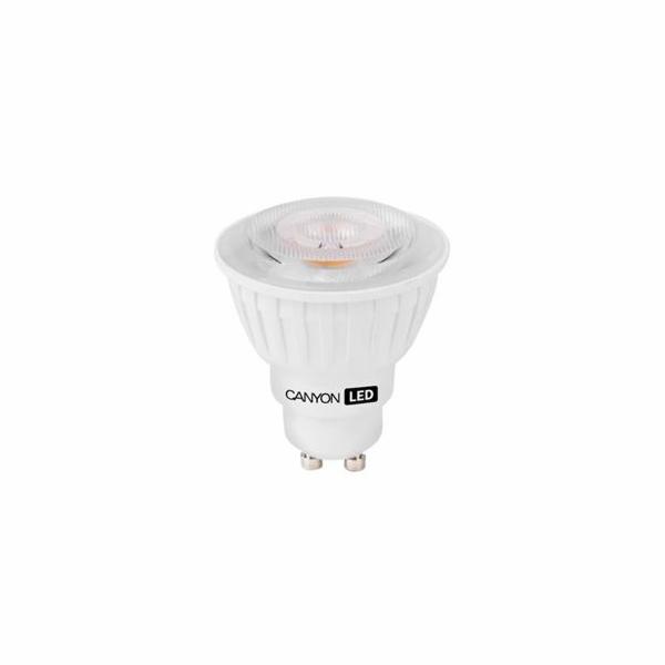 Canyon LED COB žárovka, GU10, bodová MR16, 7.5W, 540 lm, neutrální bílá 4000K, 220-240, 60 °, Ra> 80, 50.000 hod