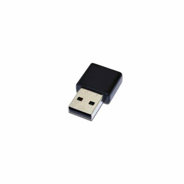 DIGITUS Bezdrátový Mini 3000N USB 2.0 adaptér s WPS, 300Mbps, Realtek 8192 2T/2R , Blister
