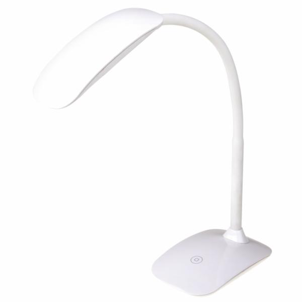 Emos LED stolní lampa MA66-D, USB, 360 lm, bílá