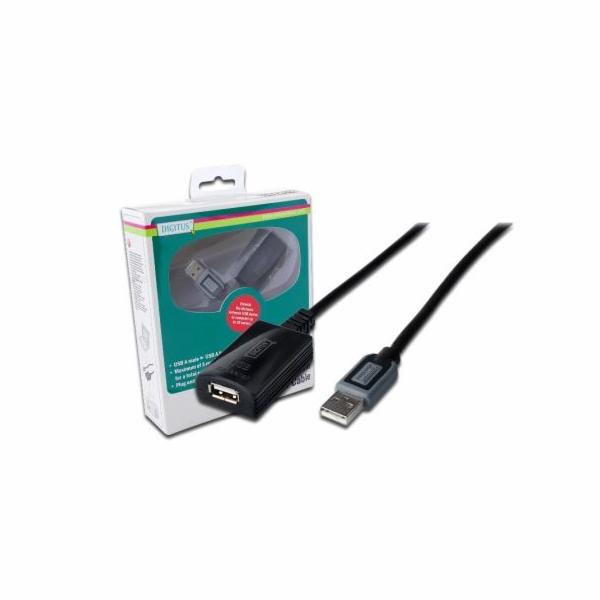 Digitus USB 2.0 aktivní prodlužovací kabel 10m
