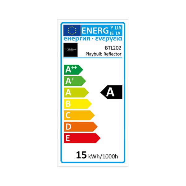 MiPow Playbulb Smart LED E27 15W (100W) RGB Reflector white