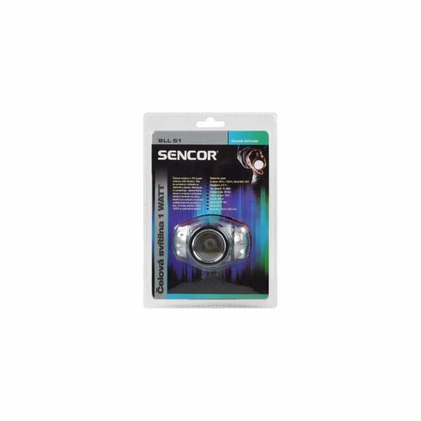 Čelovka 1W Sencor SLL 51
