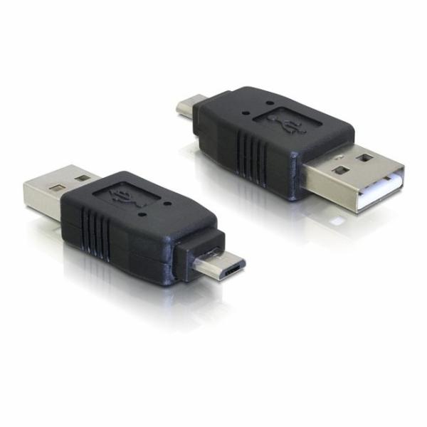 Delock redukce micro USB B samec na USB A samec