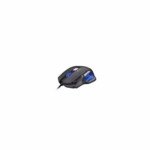 C-TECH AKANTHA, herní,2400dpi,modrá
