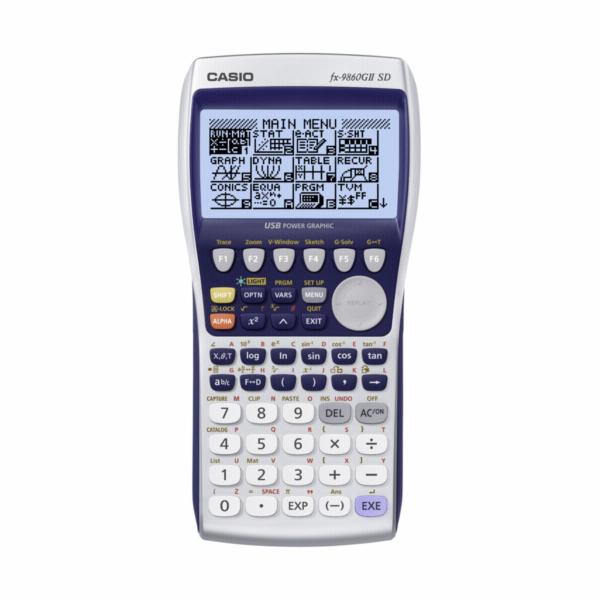Kalkulačka Casio FX 9860G II SD, grafická, vědecká