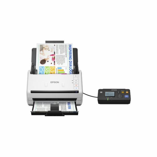 Epson WorkForce DS-530N, A4, 600 dpi, ADF, USB