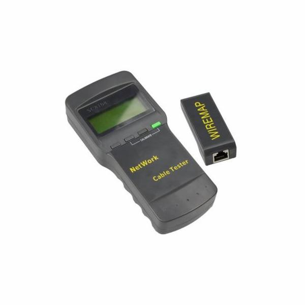 PremiumCord Univerzální tester kabelů s LCD