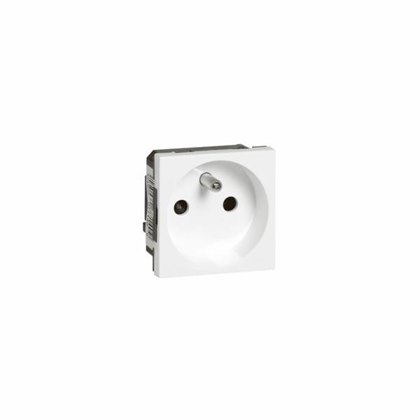 MOSAIC zásuvka 2p+t 2m bílá