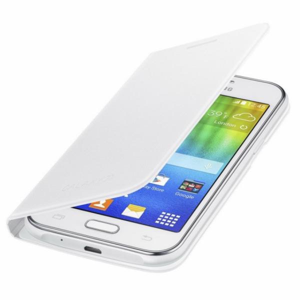 Samsung flipové pouzdro EF-FJ100B pro Samsung Galaxy J1, černá