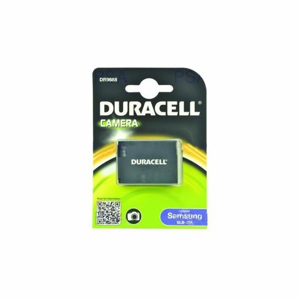 DURACELL Baterie - DR9688 pro Samsung SLB-10A, černá, 750 mAh, 3.7V